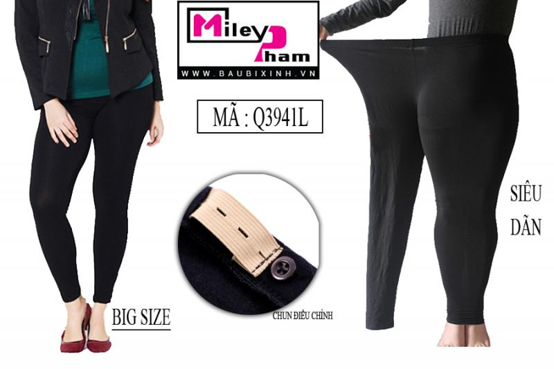 QUẦN LEGGING COTTON BIG SIZE 80 KG